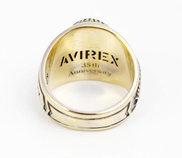 AVIREX 35周年記念カレッジリング